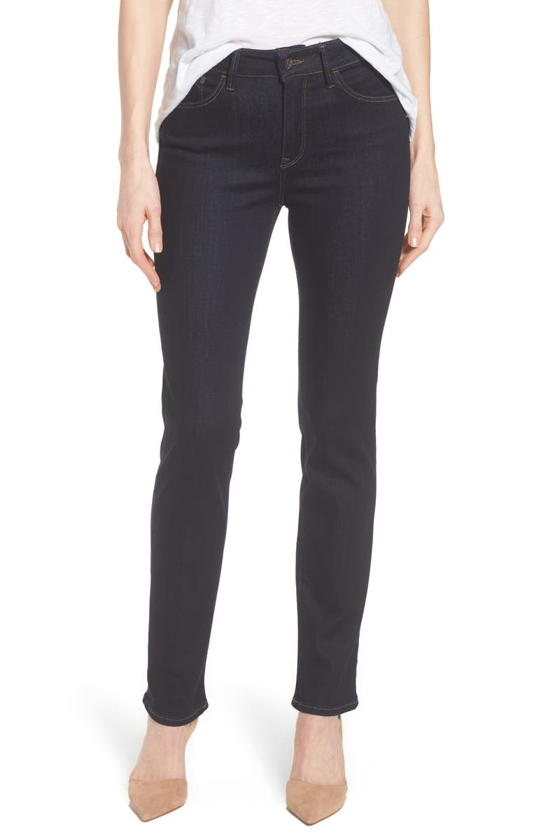 MAVI JEANS Kendra Supersoft Straight Leg Jeans, Main, color, 401
