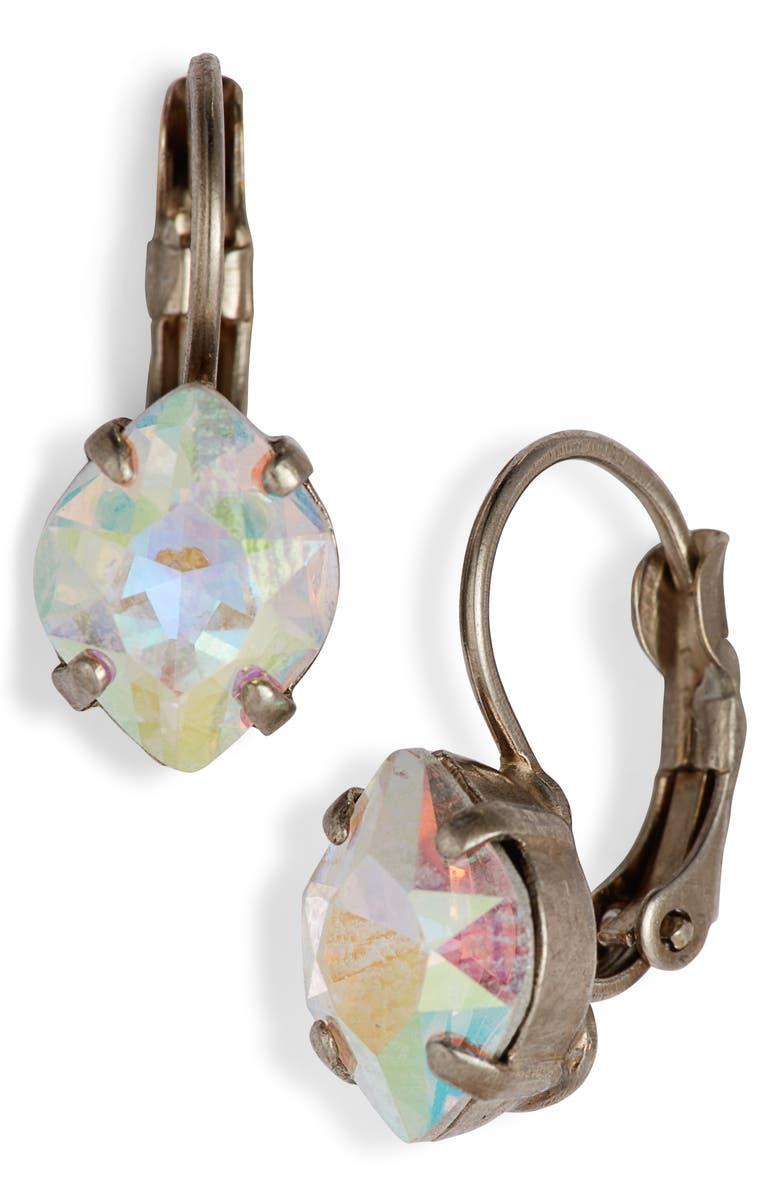 SORRELLI Crystal Drop Earrings, Main, color, 040