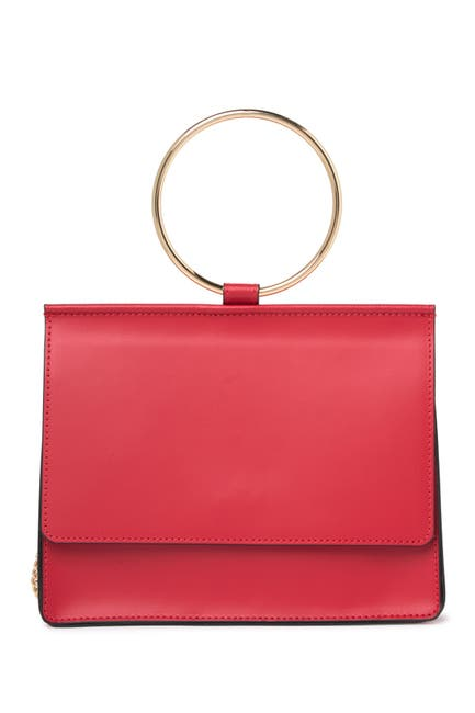 Image of Giorgio Costa Top Handle Leather Satchel Bag