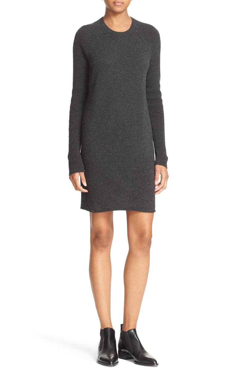 EQUIPMENT 'Willy' Cashmere Knit Minidress, Main, color, 079