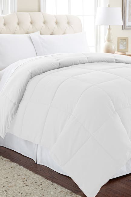 Image of Modern Threads Twin Down Alternative Reversible Comforter - White