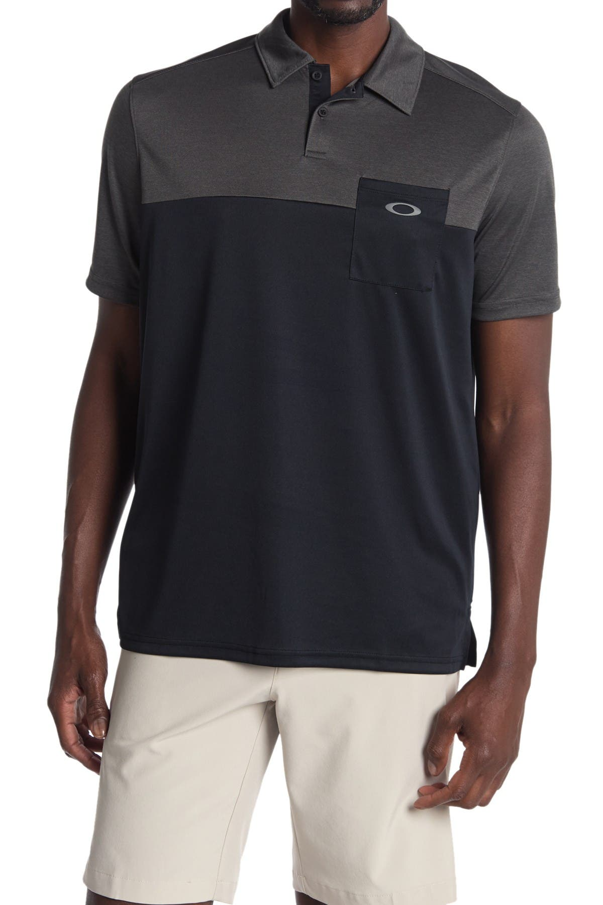 Image of Oakley Colorblock Gravity Polo