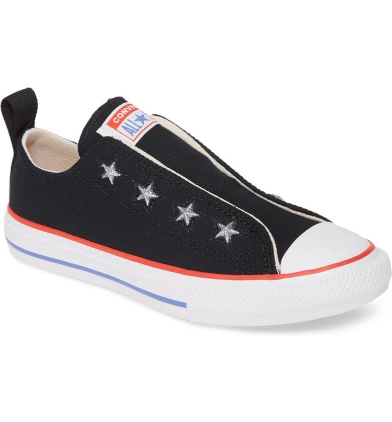 Chuck Taylor® All Star® Glitter Slip On Sneaker (Toddler