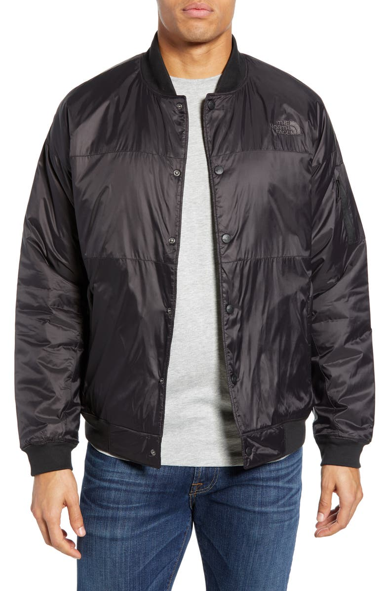 THE NORTH FACE Presley Insulated Bomber Jacket, Main, color, 001