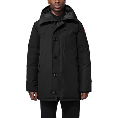 Canada Goose Chateau Slim Fit Down Parka, Black