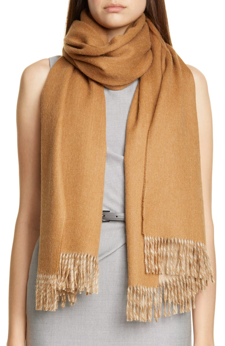 Cecina Double Face Alpaca Wrap by Max Mara