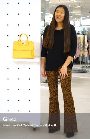 Studio Calfskin Leather Top Handle Bag, sales video thumbnail