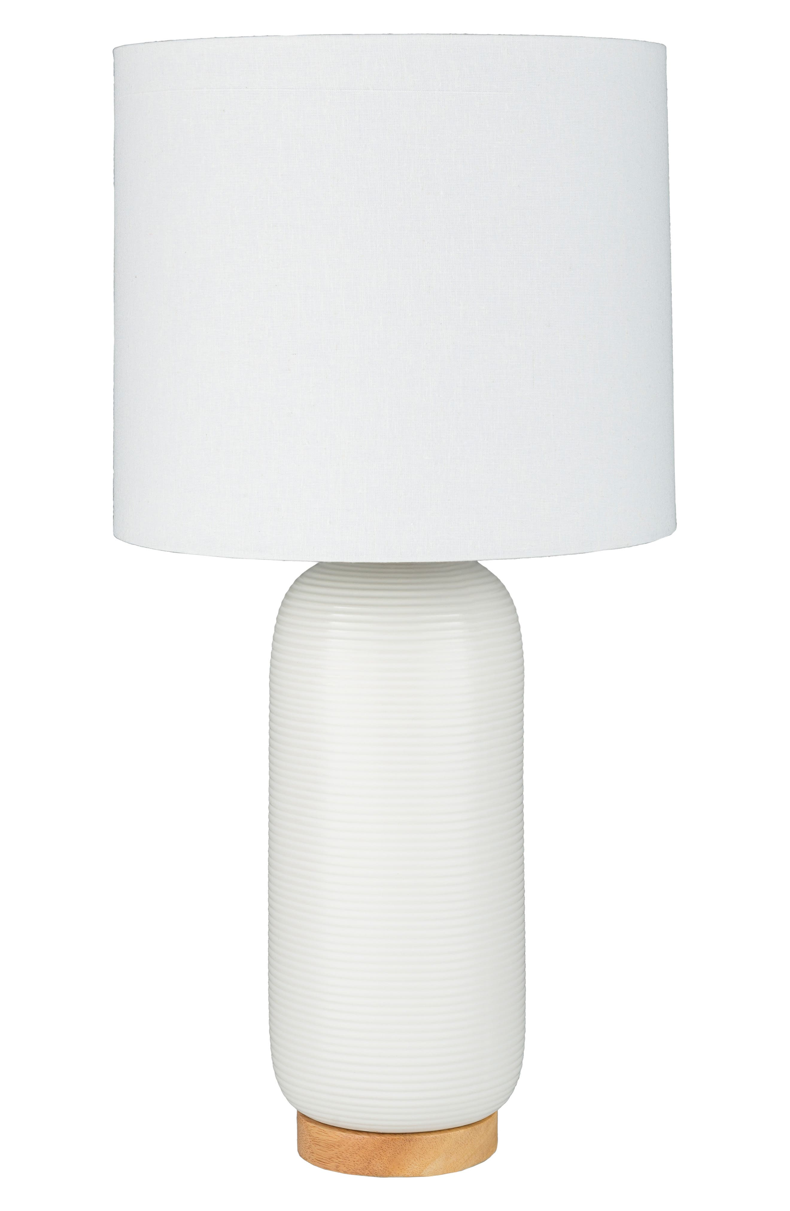 Surya Home Everly Table Lamp Size One Size  White