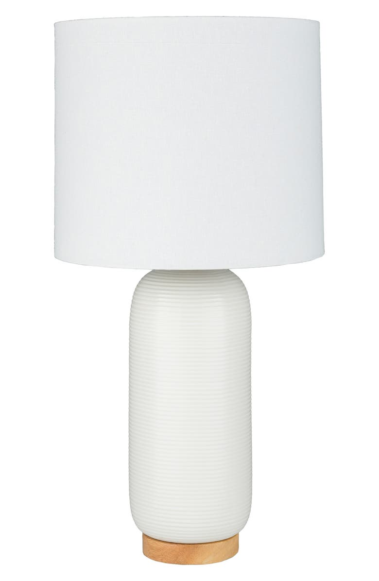 SURYA HOME Everly Table Lamp, Main, color, WHITE