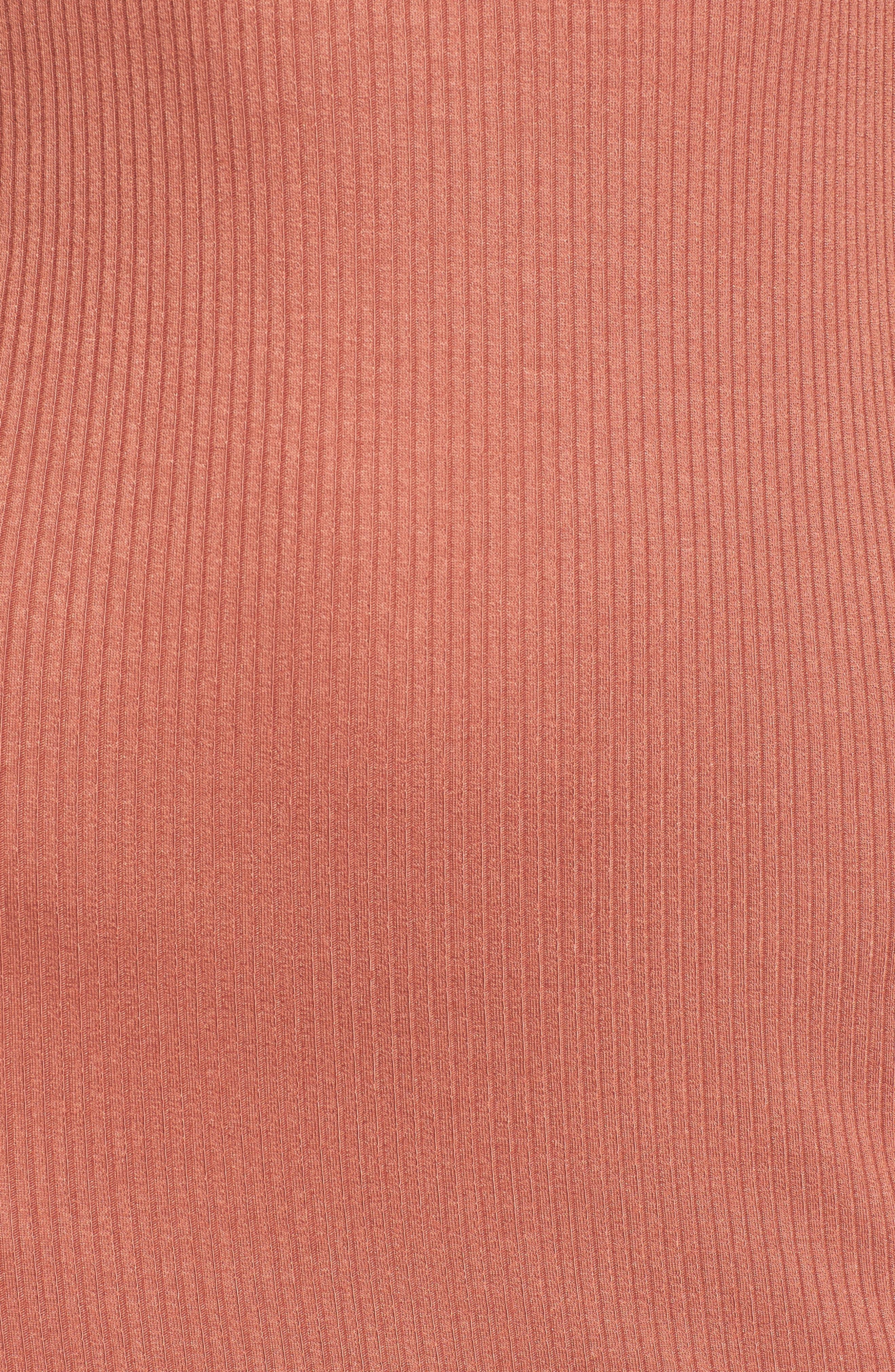 ,                             Rib Tank Dress,                             Alternate thumbnail 5, color,                             958