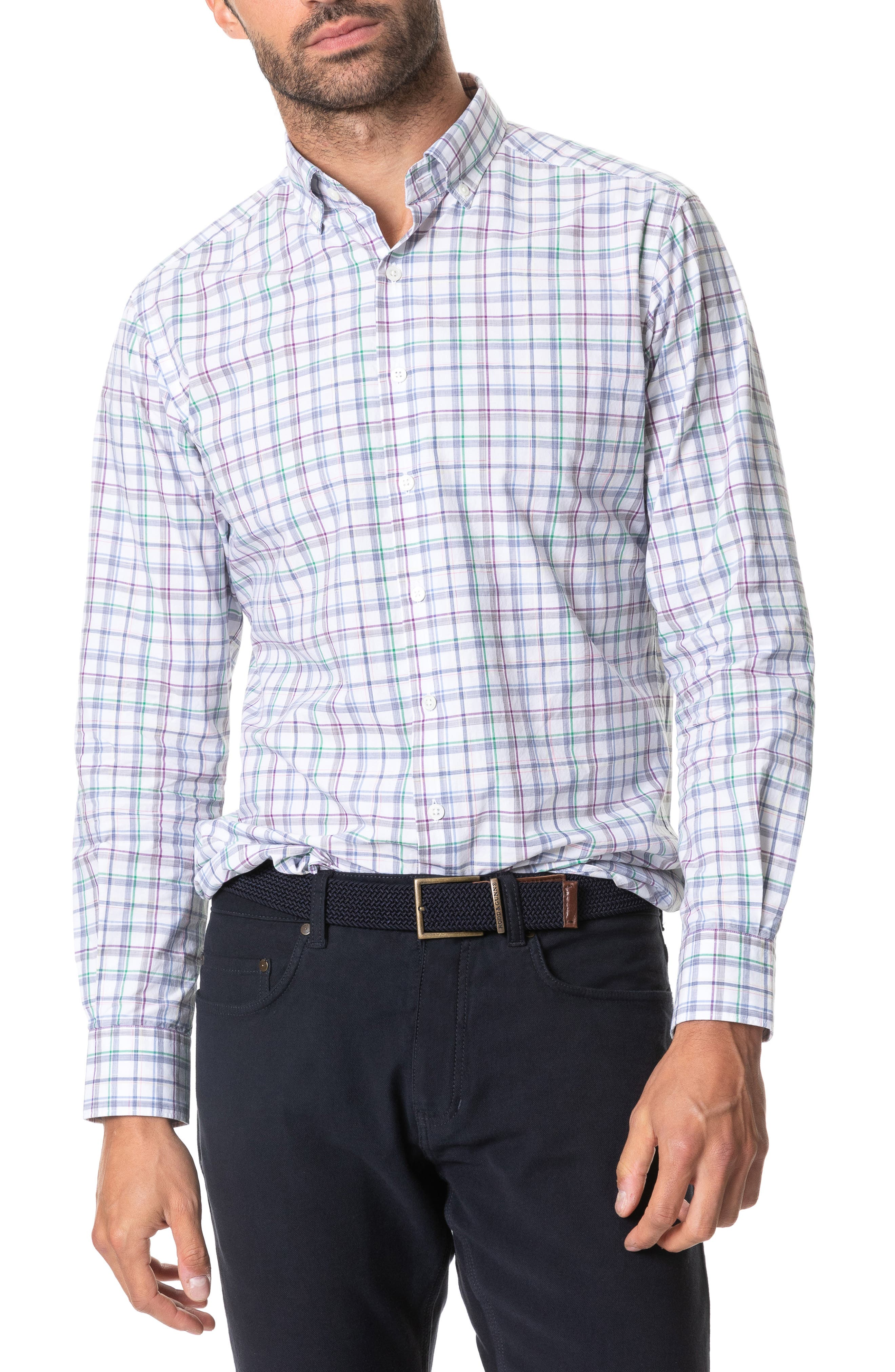 Image of RODD AND GUNN Claris Long Sleeve Regular Fit Shirt