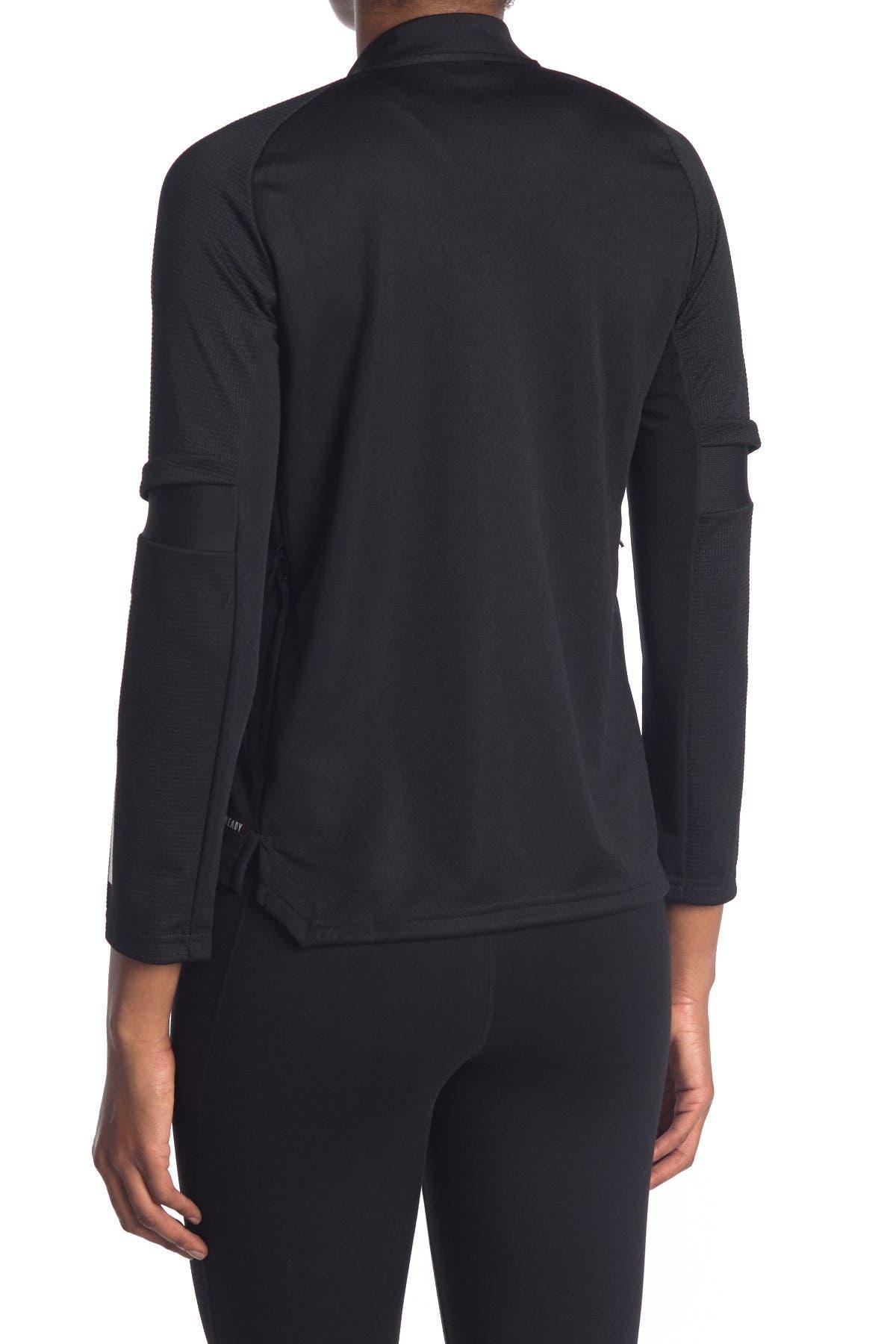 Image of ADIDAS ORIGINALS Contrast Detail Zip Front Jacket