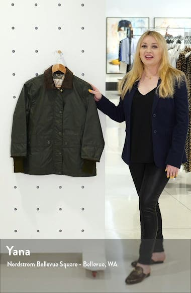 Tawny Water Resistant Waxed Jacket, sales video thumbnail