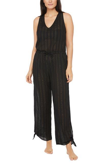 Image of La Blanca Swimwear Lurex Stripe Jumpsuit