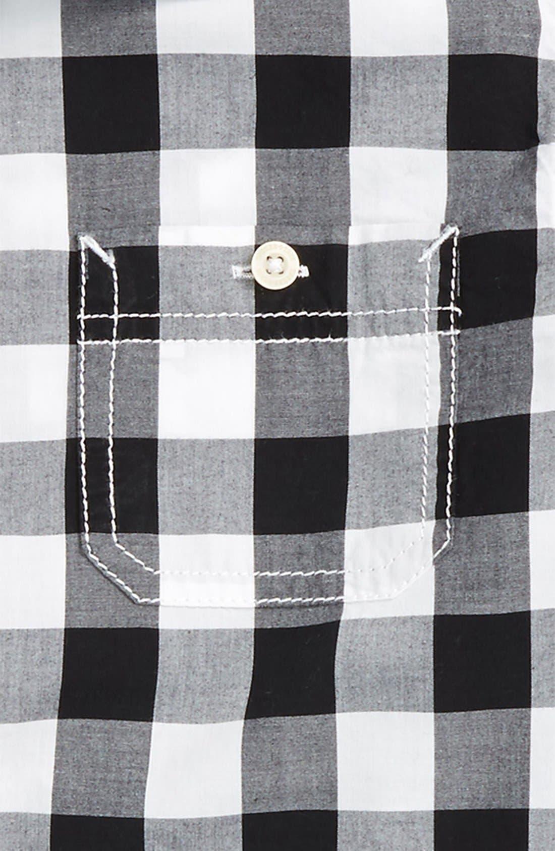 ,                             'Photo' Buffalo Plaid Woven Shirt,                             Alternate thumbnail 8, color,                             002
