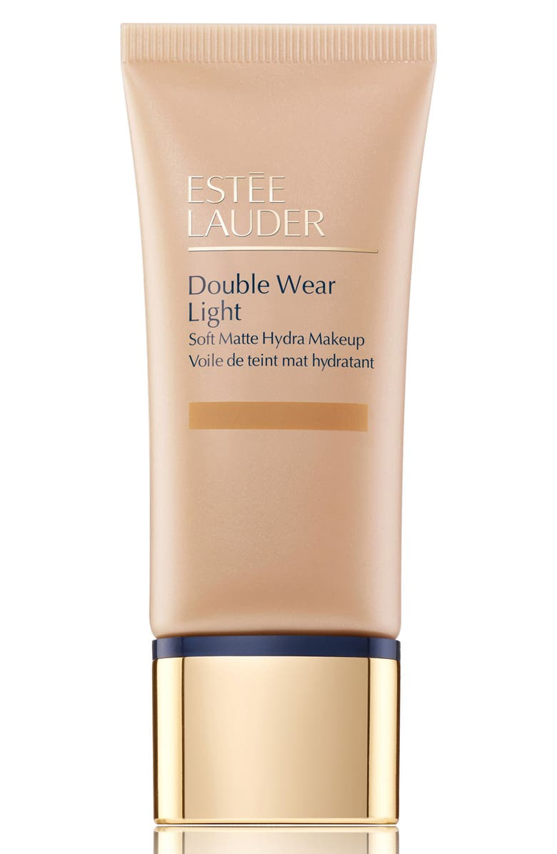 ESTÉE LAUDER Double Wear Light Soft Matte Hydra Makeup Foundation, Main, color, 4W1 HONEY BRONZE