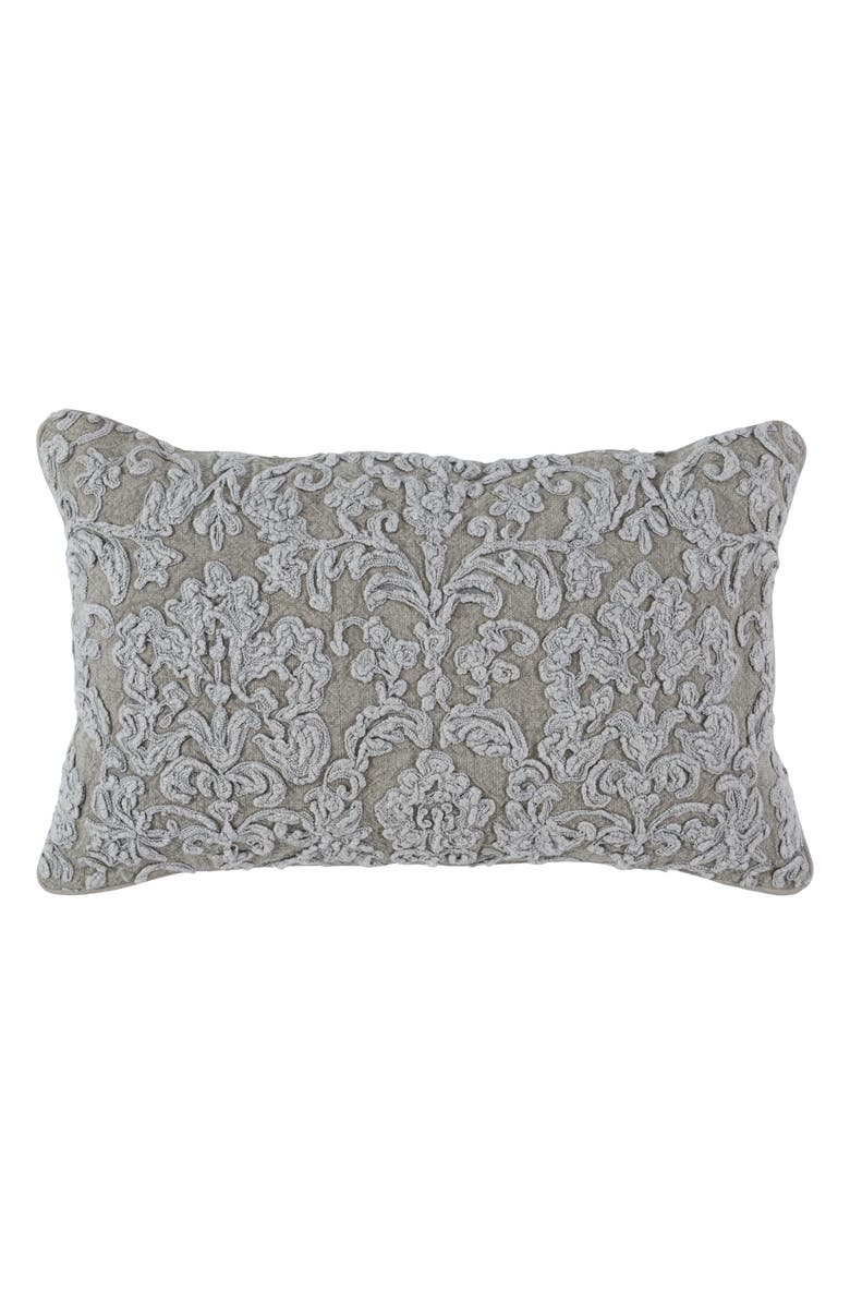 VILLA HOME COLLECTION Giselle Accent Pillow, Main, color, NATURAL