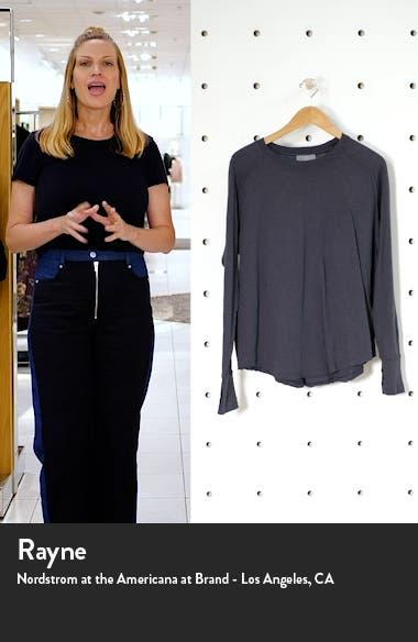 Relaxed Long Sleeve T-Shirt, sales video thumbnail