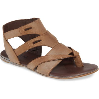 Roan Charlie Sandal- Brown