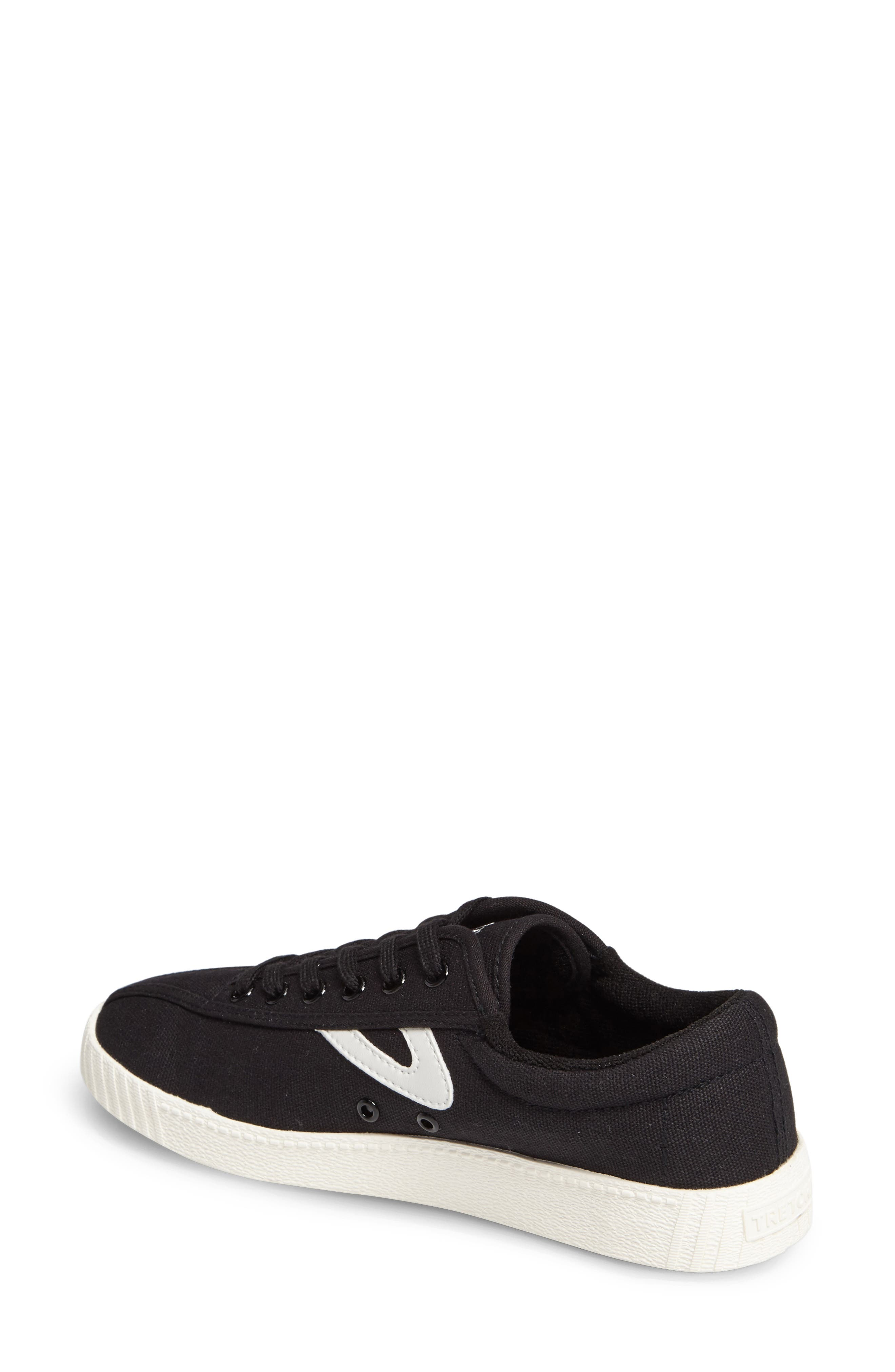 ,                             Nylite Plus Sneaker,                             Alternate thumbnail 2, color,                             BLACK/ WHITE