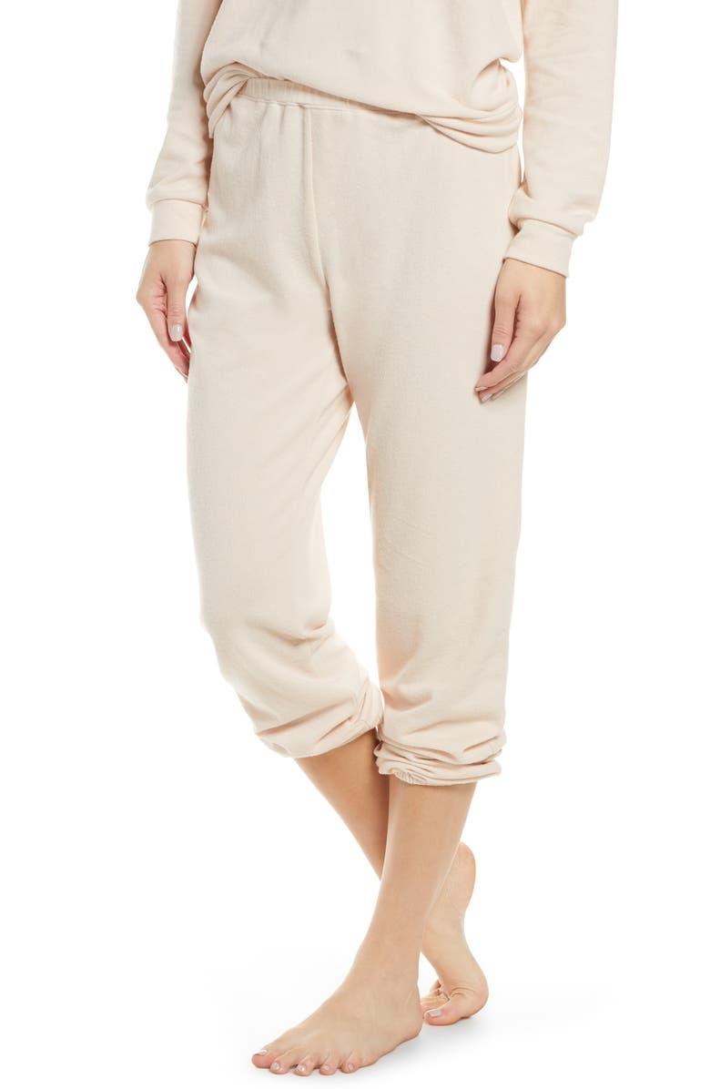 EBERJEY Gianne Lounge Pants, Main, color, SHELL
