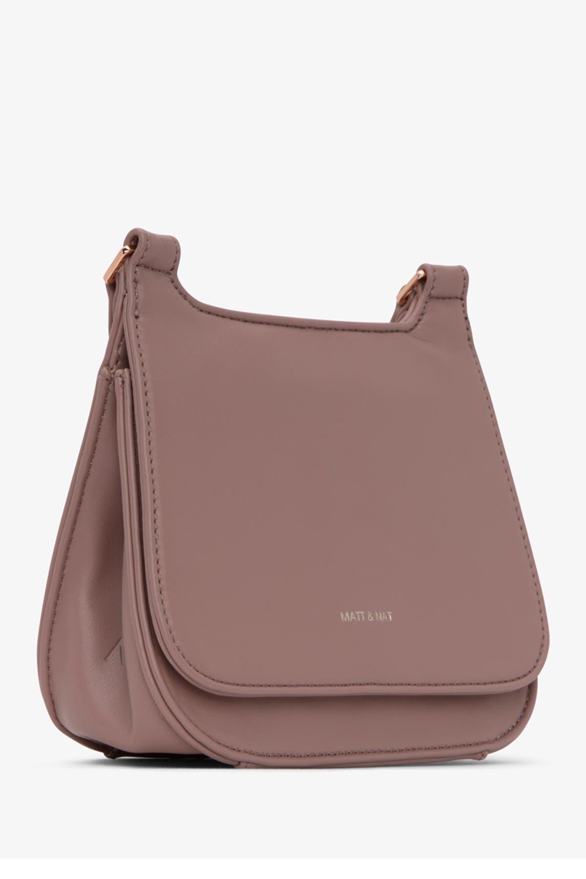 Matt /& Nat Vegan Handbags Tori Eco-Friendly 100/% Animal /& Cruelty Free Loom Crossbody 100/% Recycled Linings