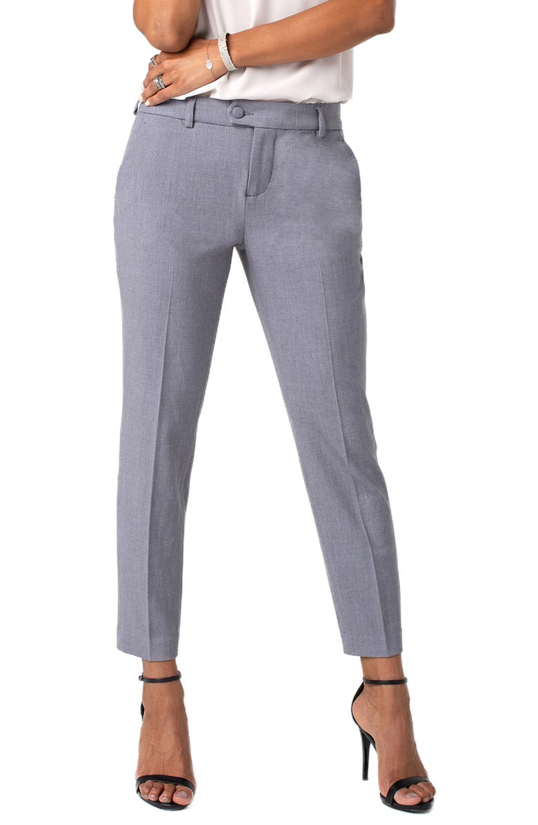 LIVERPOOL Skylar Straight Leg Stretch Twill Trousers, Main, color, 040