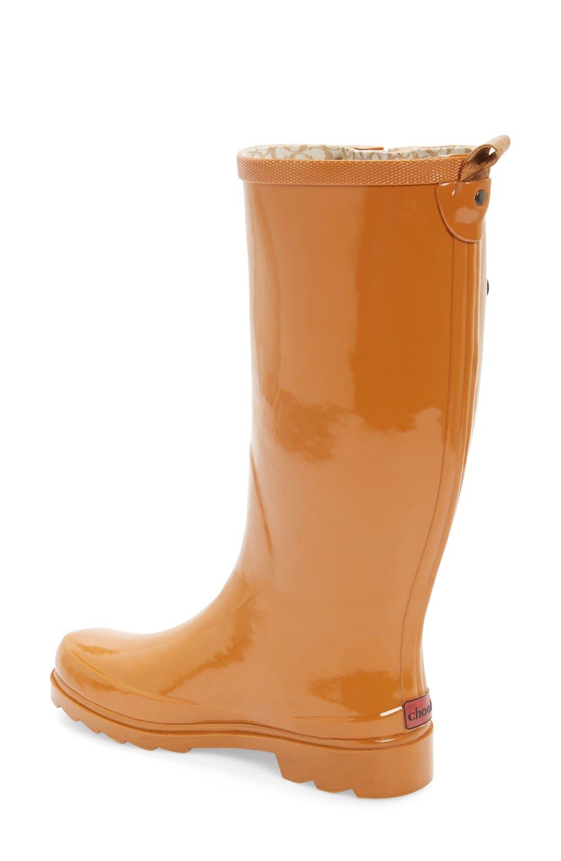 ,                             'Top Solid' Rain Boot,                             Alternate thumbnail 158, color,                             800