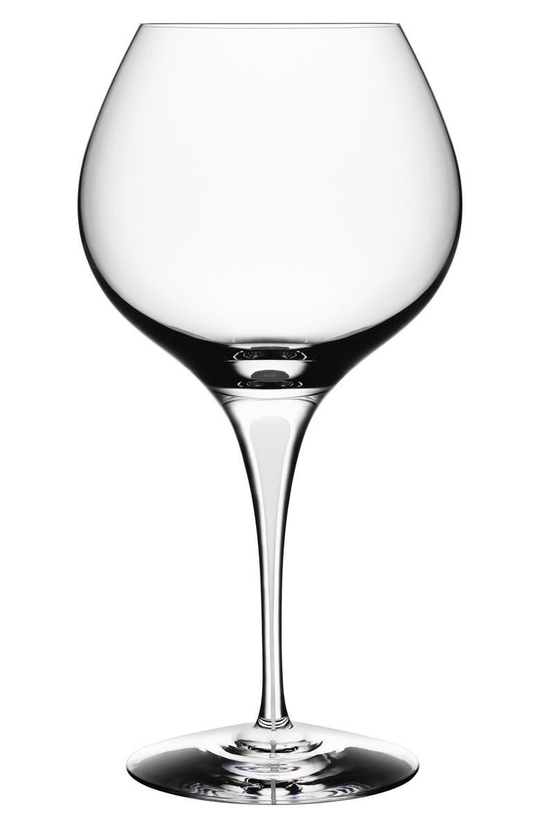 ORREFORS 'Intermezzo' Bouquet Glass, Main, color, 100