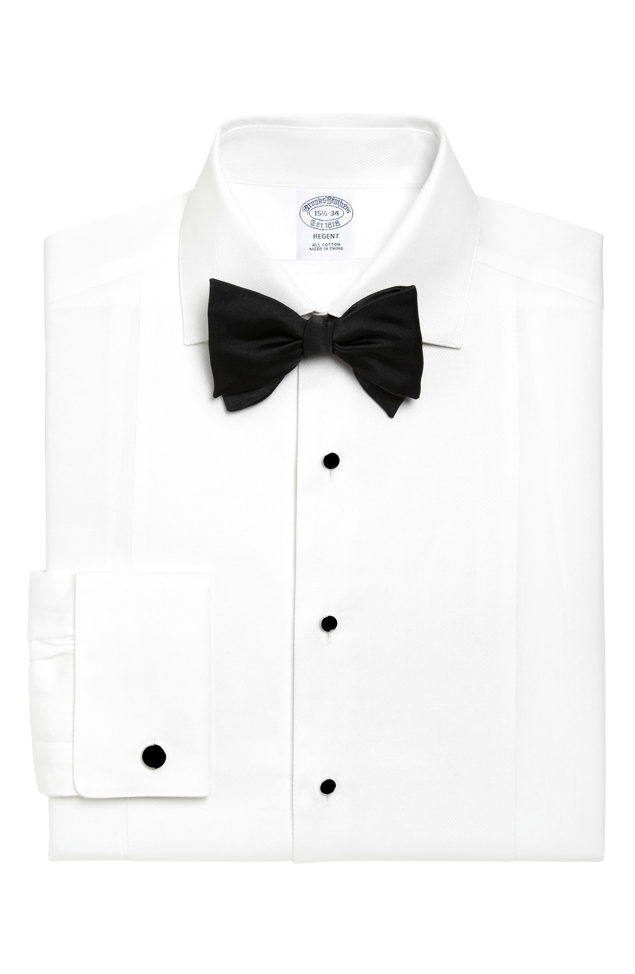 Regent Regular Fit Formal Shirt, Main, color, WHITE
