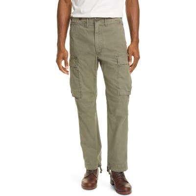 Rrl Surplus Cargo Pants, Green