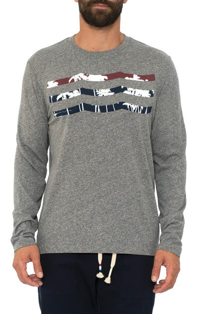 Sol Angeles Denims PATRIOT PALM WAVES LONG SLEEVE T-SHIRT