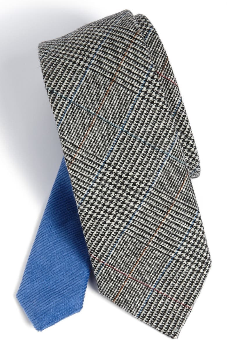 ARMSTRONG & WILSON Woven Wool Tie, Main, color, 020