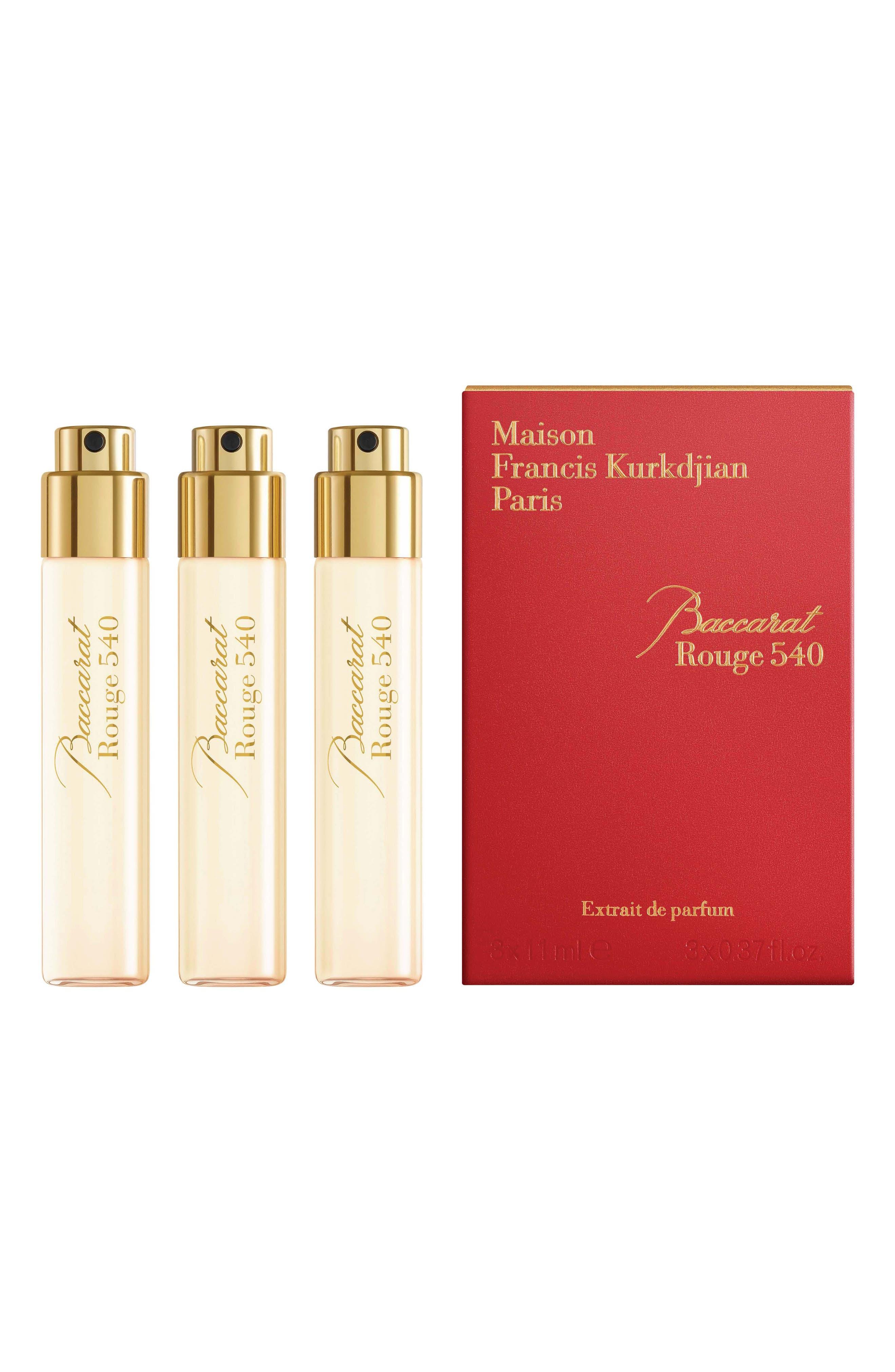 Paris Baccarat Rouge 540 Fragrance Refill Trio