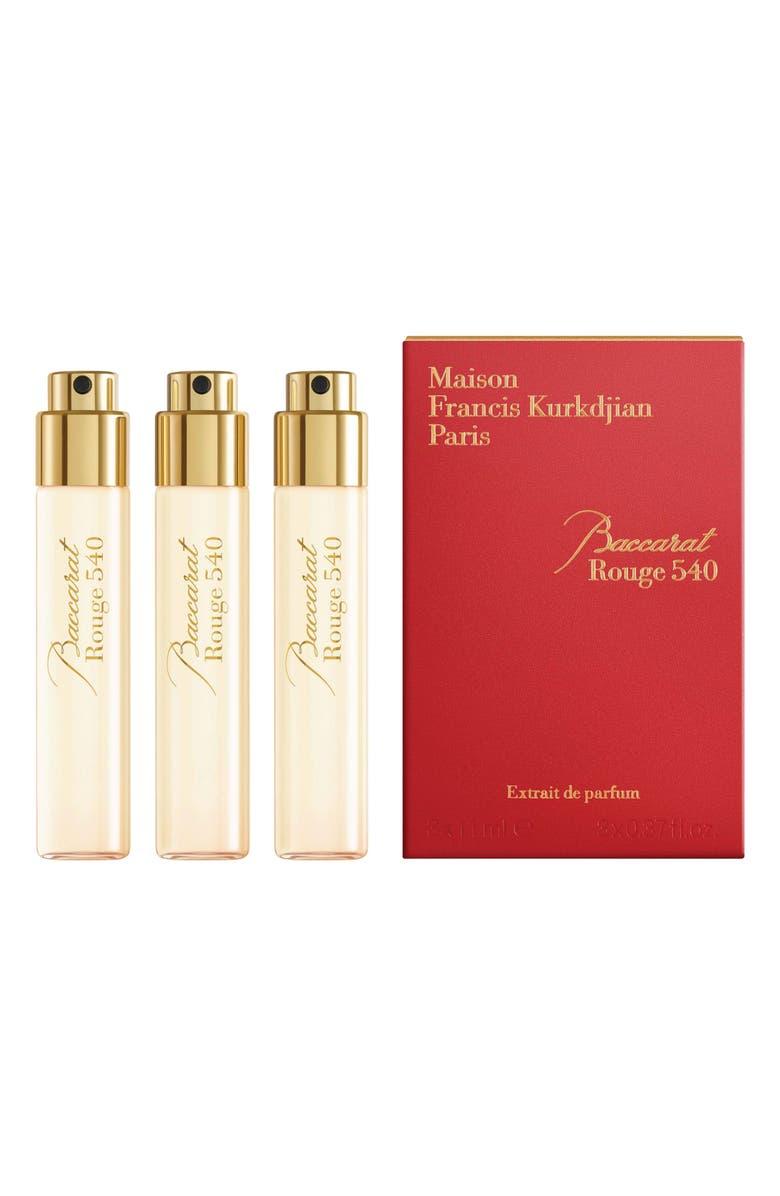 Paris Baccarat Rouge 20 Fragrance Refill Trio   Nordstrom