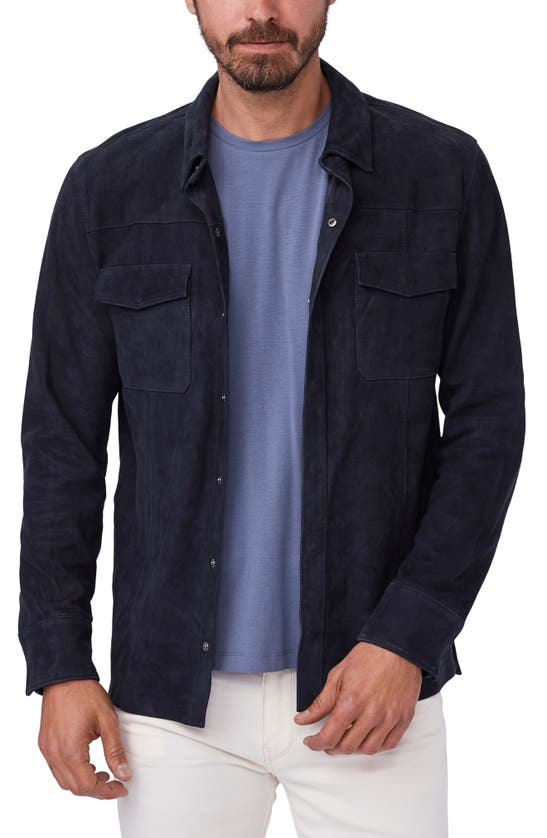 Paige Jackets BALTIMORE SUEDE SHIRT JACKET
