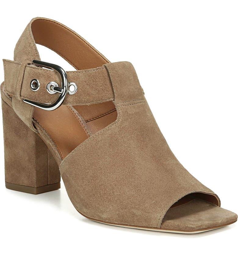 SARTO BY FRANCO SARTO Raychel Shield Sandal, Main, color, TAUPE SUEDE