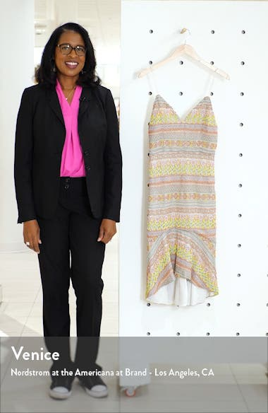 Amina All Over Embroidery Sweetheart Neck Cotton Dress, sales video thumbnail