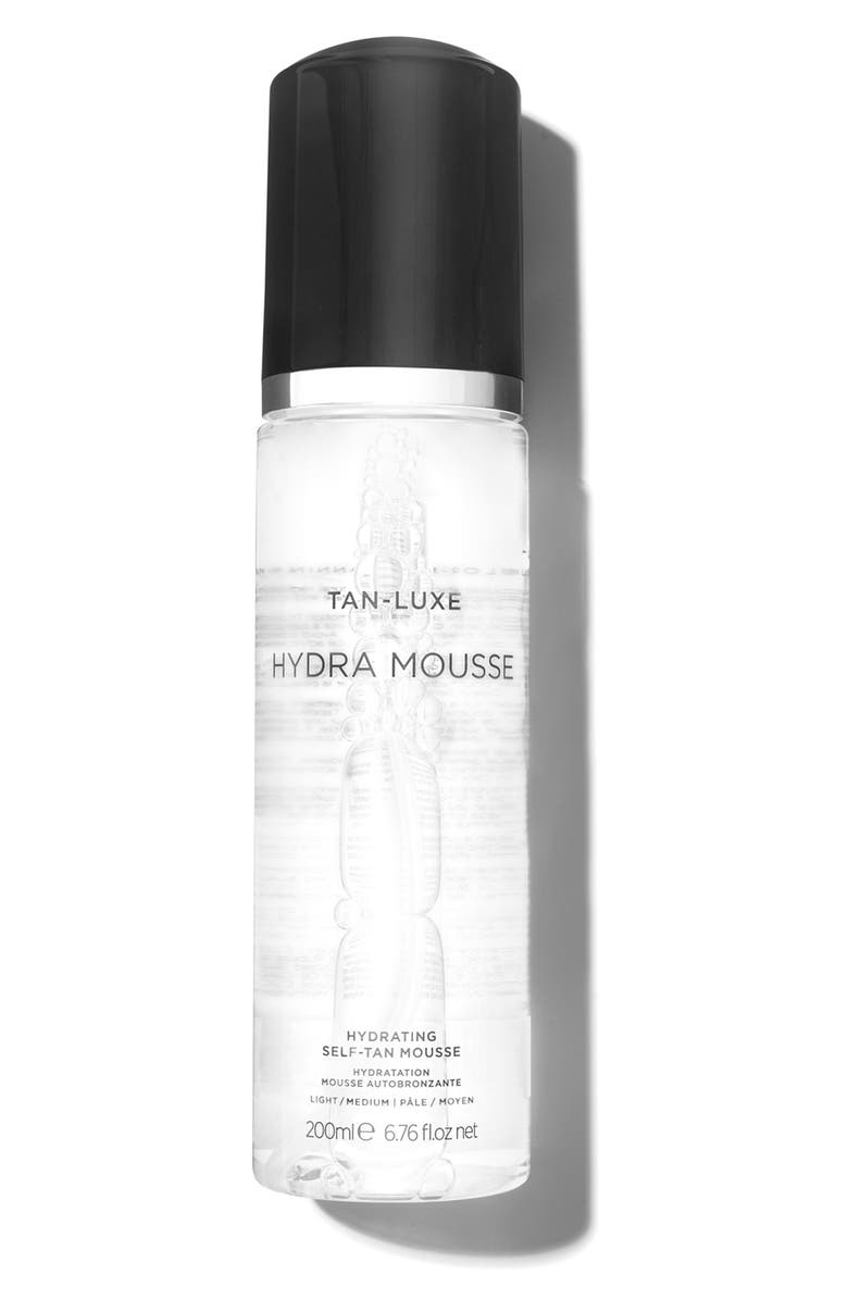 TAN-LUXE SPACE.NK.apothecary TAN-LUXE Hydra Mousse Hydrating Self-Tan Mousse, Main, color, LIGHT/ MEDIUM