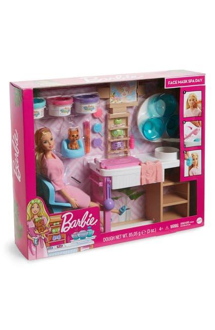 Image of Mattel Barbie Face Mask Spa Day