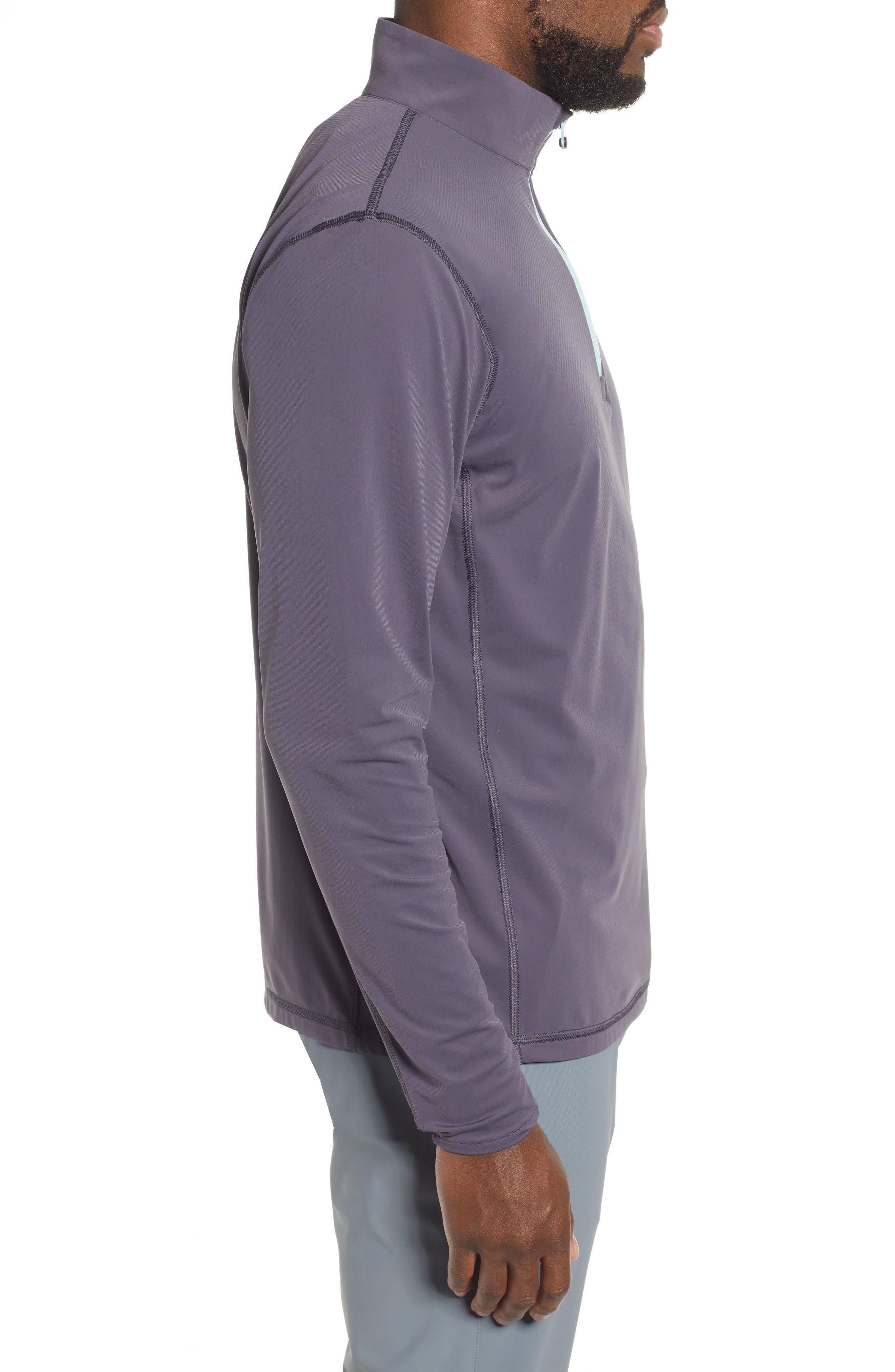 ,                             Tate Quarter Zip Pullover,                             Alternate thumbnail 4, color,                             EEL