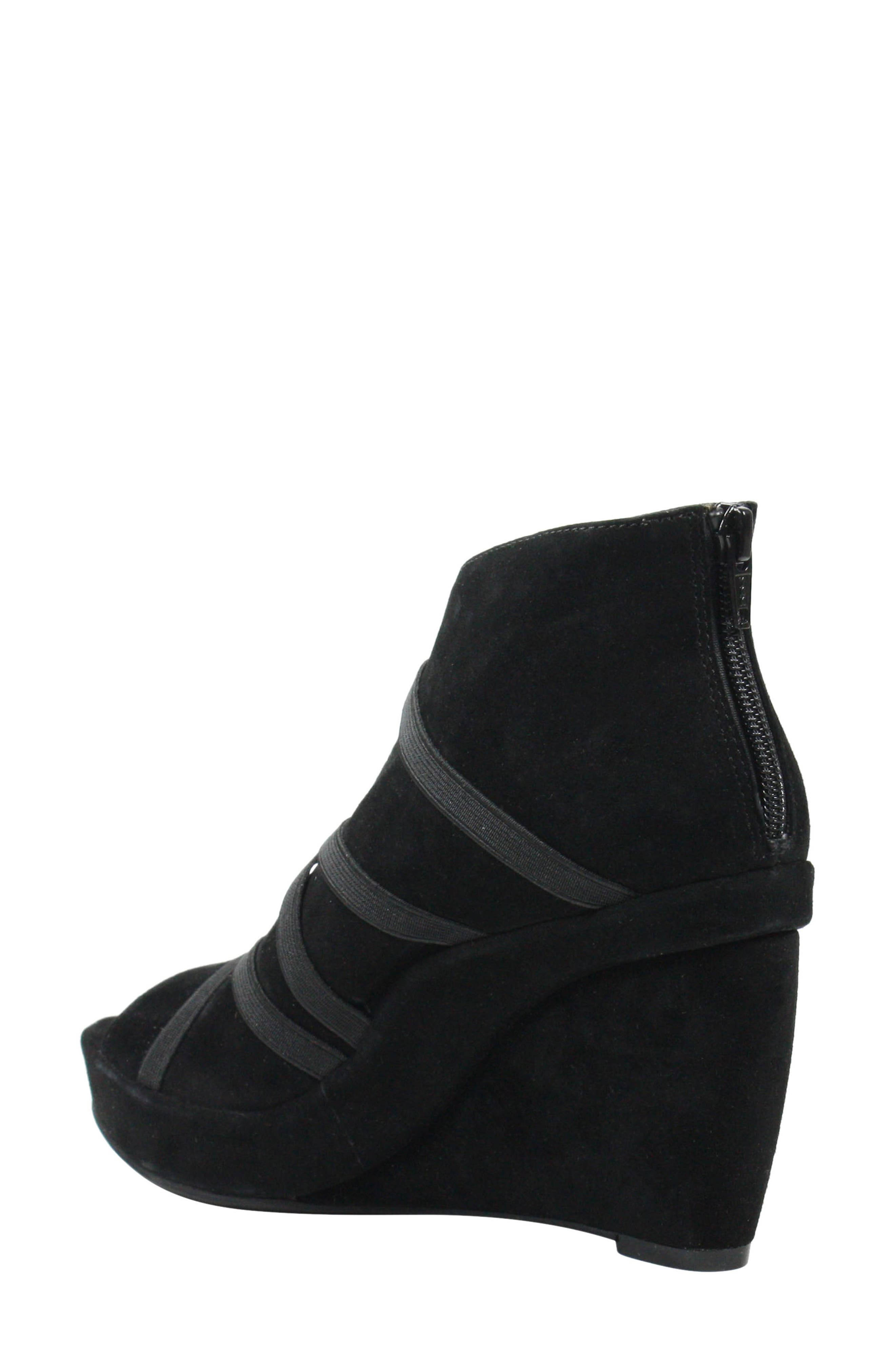,                             Icelos Wedge Bootie,                             Alternate thumbnail 2, color,                             BLACK SUEDE