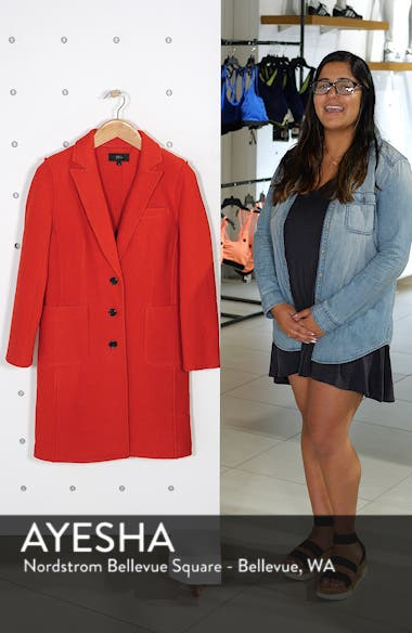 Olga Boiled Wool Topcoat, sales video thumbnail
