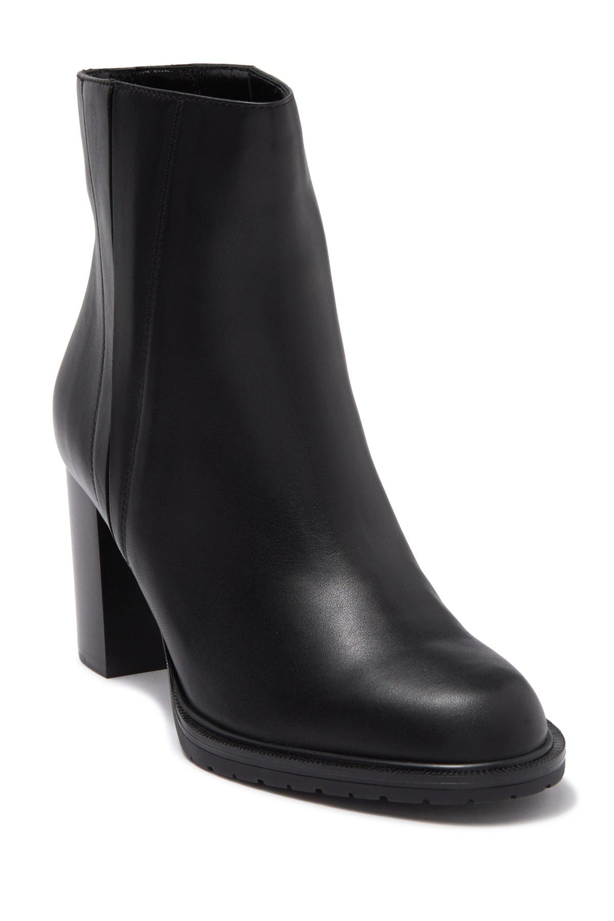 Image of Aquatalia Betsy Leather Block Heel Boot