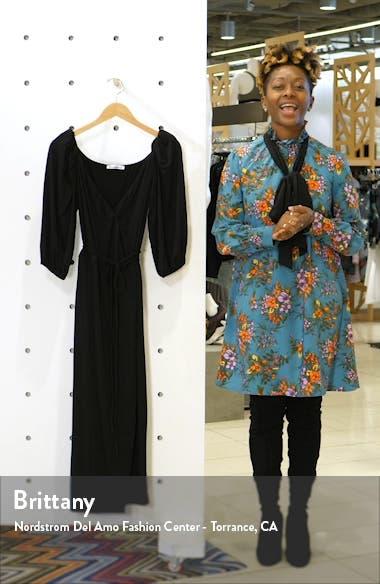 Calabra Wrap Dress, sales video thumbnail