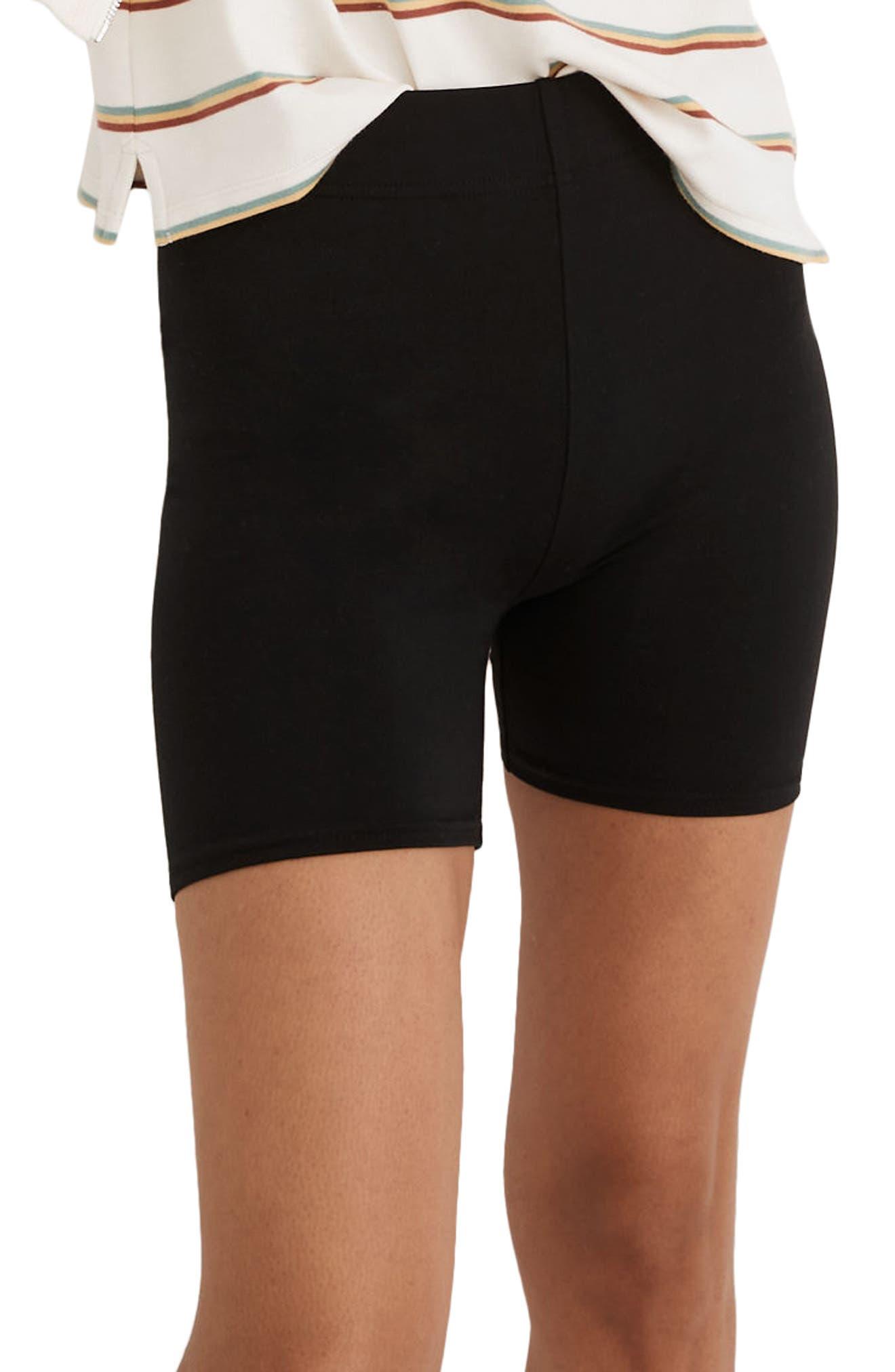 Knit Biker Shorts