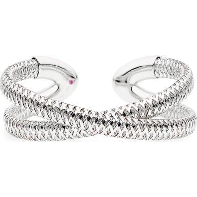 Roberto Coin Primavera 18K Gold Cuff Bracelet