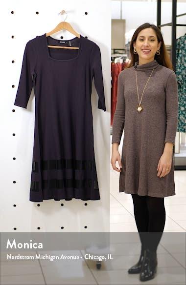Charming Twirl Taffeta Inset Dress, sales video thumbnail