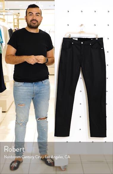 Modern Slim Fit Stretch Selvedge Jeans, sales video thumbnail