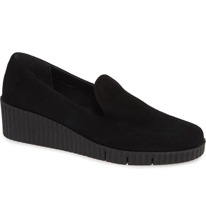 THE FLEXX Fast Times Loafer, Main, color, BLACK SUEDE